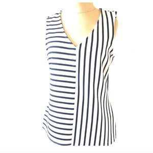 Jules & Leopold Striped Sleeveless Top